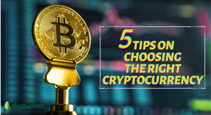 5 Tips on Choosing the Right Cryptocurrency
